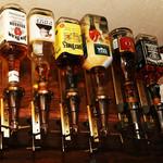 アッシュフォード - お酒も多種あります。