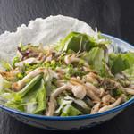 いつき - 料理写真:さっぱりとした味わいの『木の子の温サラダ』