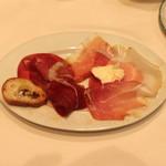 ヴィンチェロ - 素晴らしく美味しい 生ハムの盛り合せ (2014/03)
