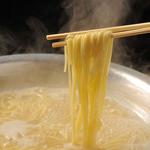 ひできゅう。 - 鍋のしめのラーメン、大人気です。