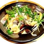 串栄 - 料理写真:さわらのタタキ