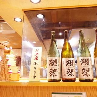 『こだわりの日本酒と焼酎』
