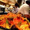 ベジアンチョビとオリーブのトマトソーススパゲッティ