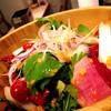*100%オーガニック野菜のフレッシュサラダ