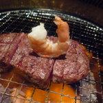 闇市 - ☆好きなフィレ肉と海老がダンスダンスダンスです(*^。^*)☆