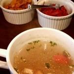 24660384 - スープと漬物