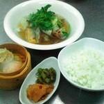 華福寿 - 中華風アサリのぶっかけ飯セット