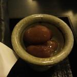 手打ちそば 蕎庵 かゆう  - 丸玉食堂(新居浜市平形町)やってたお母さんの美味しいお豆
