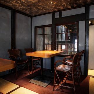 京町屋を改装した趣ある店構え。