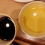 サンドッグイン 神戸屋 馬喰横山駅店 - コーンスープとコーヒー