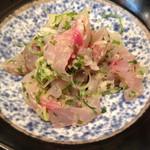 後楽寿司 - 鯵のたたき