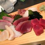 後楽寿司 - 刺身盛合せ(二人前)