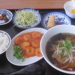 兄弟中華料理 - 料理写真:エビチリ定食
