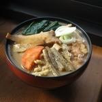 おっきりこみのふる里 - 料理写真:おっきりこみ単品600円