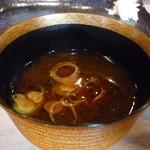 松寿司 - ☆赤だしも美味しい☆