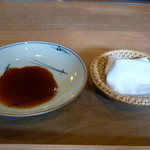 松寿司 - ☆お醤油とお手拭☆