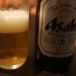 24668630 - 瓶ビール500円。