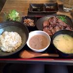 24671971 - 牛タン炙り焼き定食 1200円