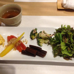 彩花亭 - ランチ 前菜