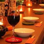 びいどろ - オシャレな店内と心温まるお料理は大切な人との大切な時間をロマンティックに演出致します。