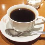 カフェ・デザール ピコ - 本日のケーキセット(840円)のブレンドコーヒー