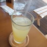 ハニービー - ランチセットのりんごジュース