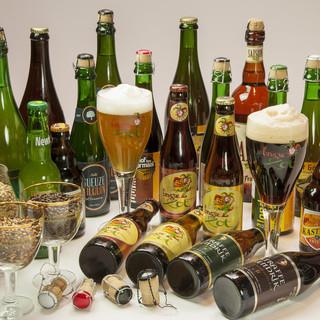 こだわりのベルギービール