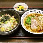 ママ食堂 - 料理写真:石焼チャーハンセット\780
