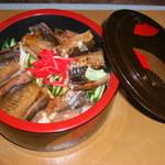 めし処 通 - 穴子丼¥1200-