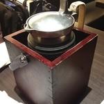 醪音 - 醪音 伏見店の熱燗(13.12)