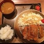豚しゃぶ せいろ蒸し HARU - ミルフィーユカツ定食