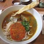 侍.うどん - メニュー名『スパイス侍.ロード第二章』700円。辛さは1.2.3とリクエスト出来ます。