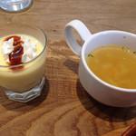 T's - デザートプリンとスープ!