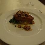 フルール・ド・セル - 寒ブリのポワレ 焦がしバターソース