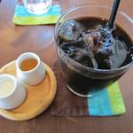 バンザイカフェ - アイスコーヒー 500円