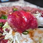 アロハオレンジ - レア肉巻きご飯