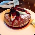 コマイチ アンド カフェ - スペシャルパンケーキ