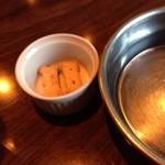 コマイチ アンド カフェ - ワンコ用お水とクッキー