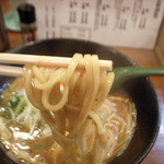 麺屋 はなぶさ - 1-2)中華そばの麺