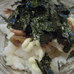 麺屋 はなぶさ - 2)鶏マヨ丼