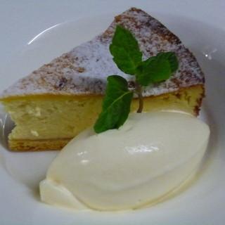 カマンベールチーズケーキ