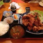 はせ川 - 唐揚げ定食