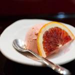 東家 - ブラッドオレンジのアイス