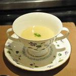 メインダイニング いと桜 - さつまいものスープ