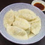 麺工房 武 - 手作り水餃子(350円)