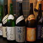 ダイニング 仁 - ダイニング 仁の利き酒3種(13.10)