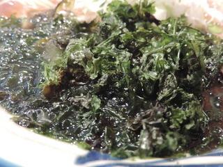 神田 磯野 - トッピングの岩海苔