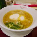 黄金の塩らぁ麺 ドゥエイタリアン - 1番人気の【らぁ麺フロマージュ】¥980
