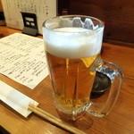 24695750 - 生ビールでカンパ~イ♪