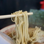 中華ソバ 伊吹 - 麺のアップ
